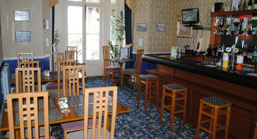 The Belmont dining room, Shanklin Isle of Wight