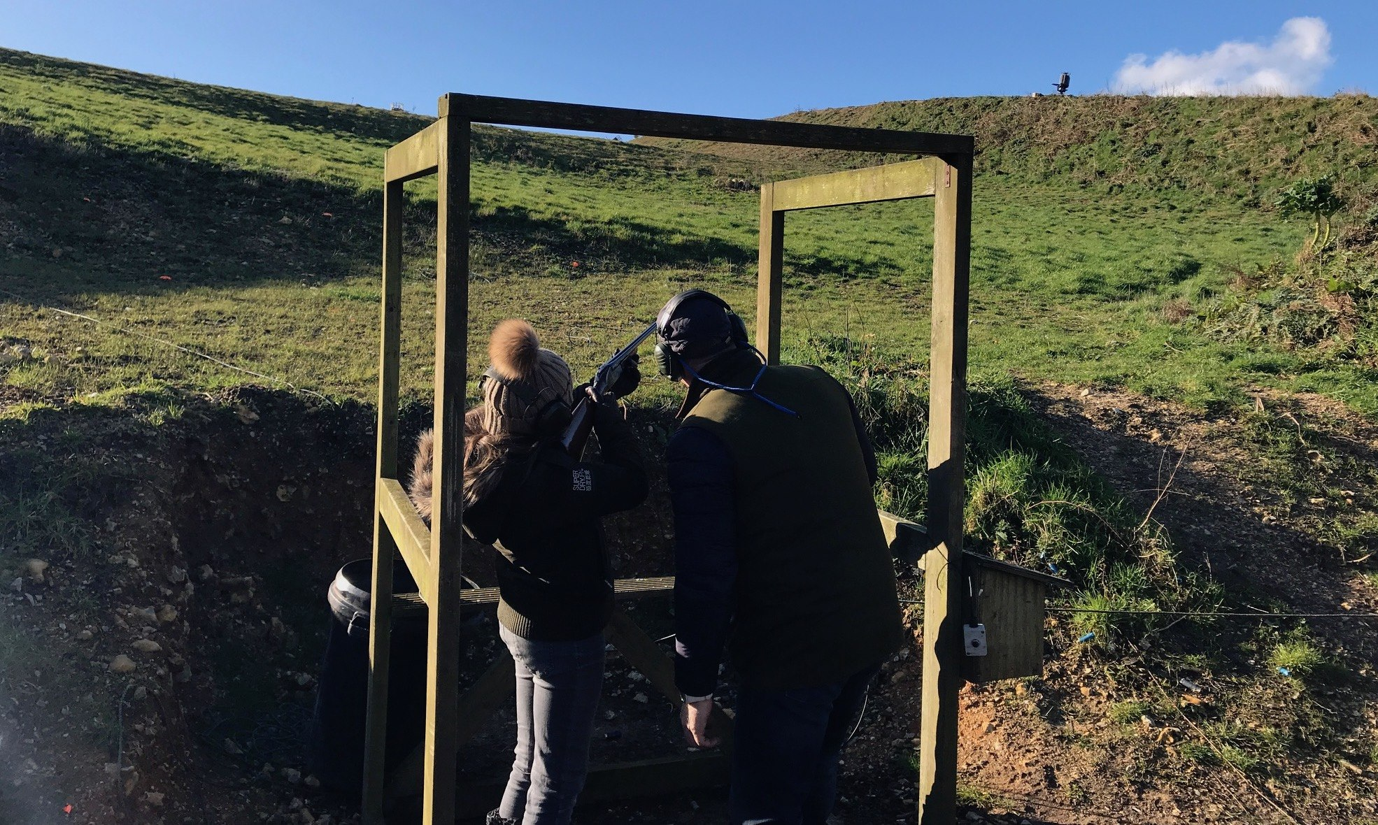 Clay Shooting at Bowcombe View Teaching