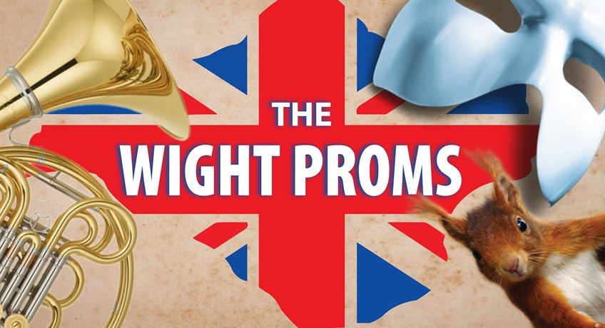 Wight Proms 2018 LOGO for Red Funnel
