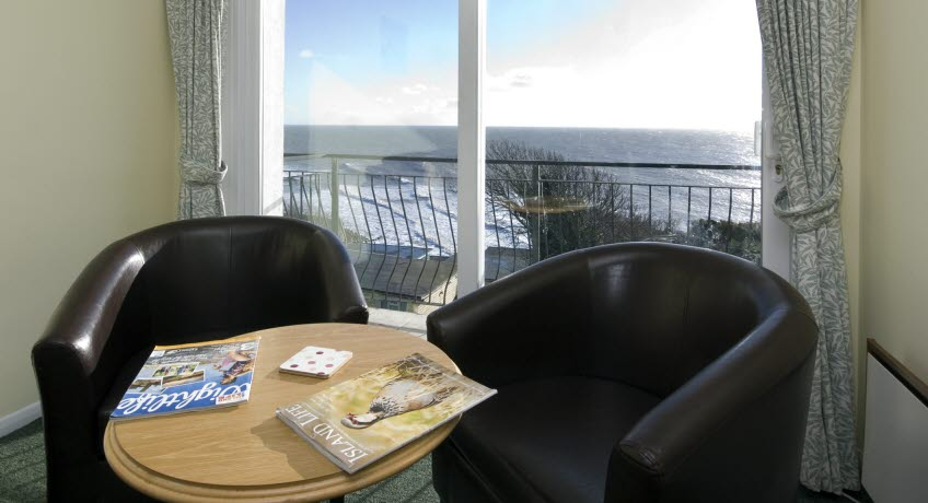 Ventnor Holiday VIllas apt view, Ventnor Isle of Wight