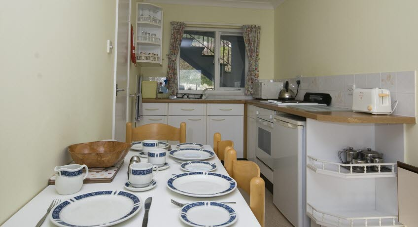 Ventnor Holiday VIllas apt kitchen,  Ventnor Isle of Wight