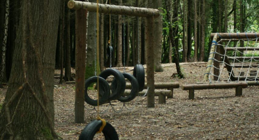 Whitefield Forest assault course, Ryde Isle of Wight
