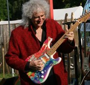 Brian May with IW Festival Fender comp