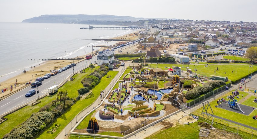 Sandham Gardens, Sandown Bay, Isle of Wight, PO36 8AT