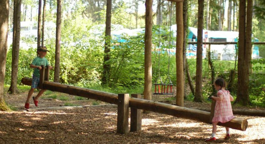 Whitefield Forest seesaw, Ryde Isle of Wight