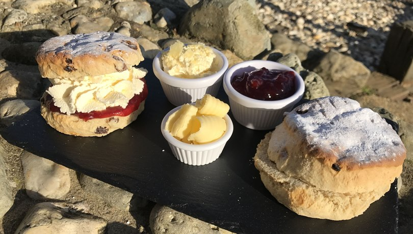 Shanklin Chine - cream tea