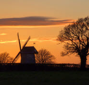 Bembridge Windmill Isle of Wight sunset