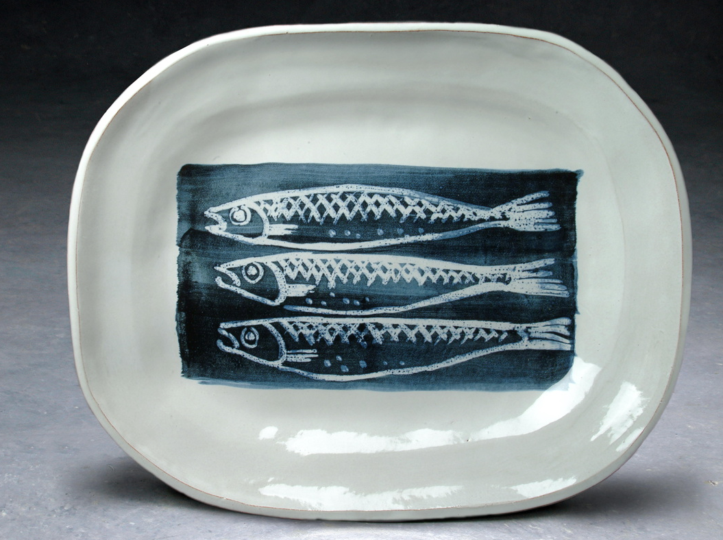 Molly Attril Fish Plate