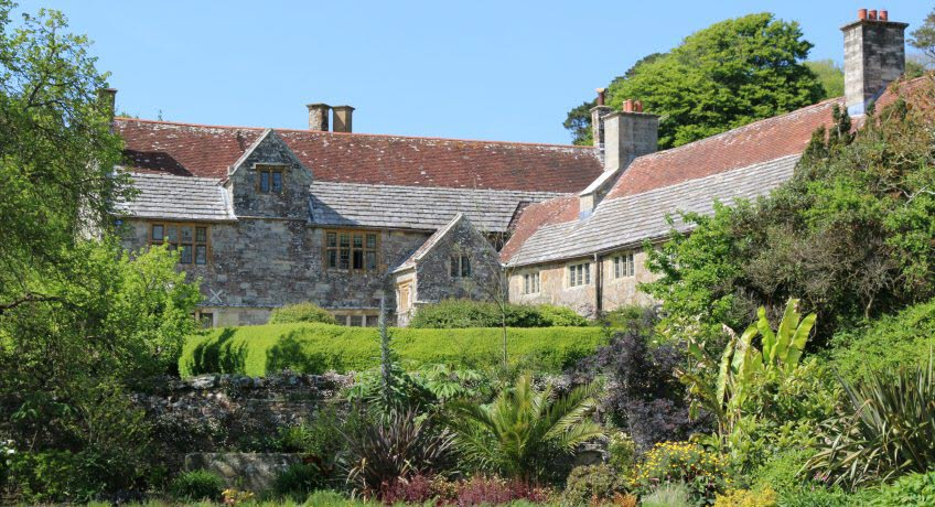 Mottistone Manor from lower garden