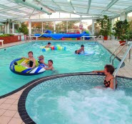 Orchards Holiday Park indoor pool, Newbridge Isle of Wight