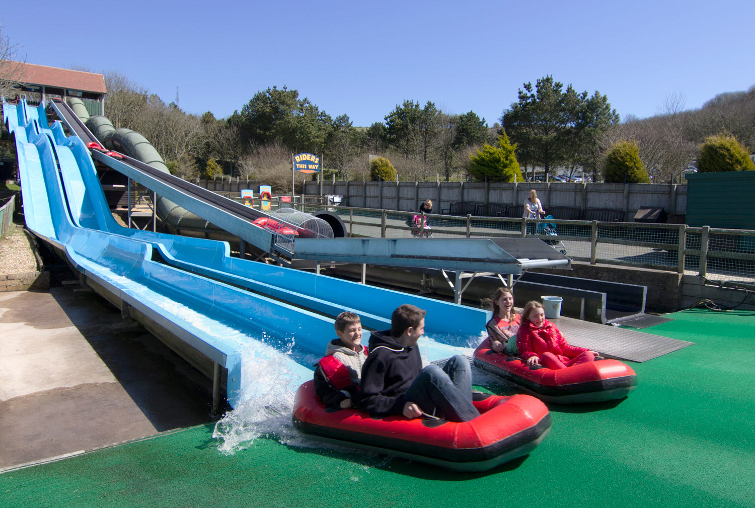 Blackgang Chine IoW waterslide