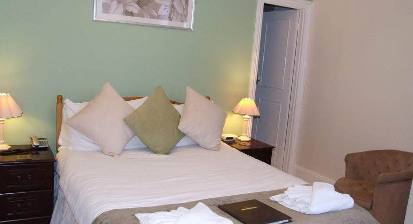 The Belmont double bedroom, Shanklin Isle of Wight
