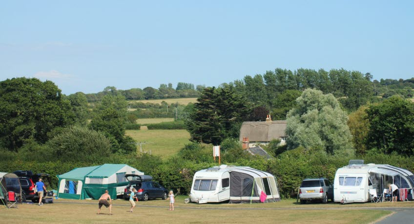 Teh Orchards Holiday Park Newbridge Isle of Wight