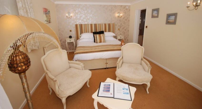 The Leconfield  premium room, Bonchurch Isle of Wight