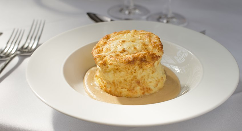The Royal Hotel - cheese souffle