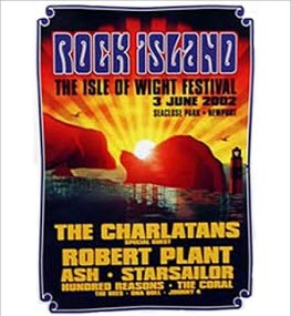 2002 Isle of Wight Festival Headliners