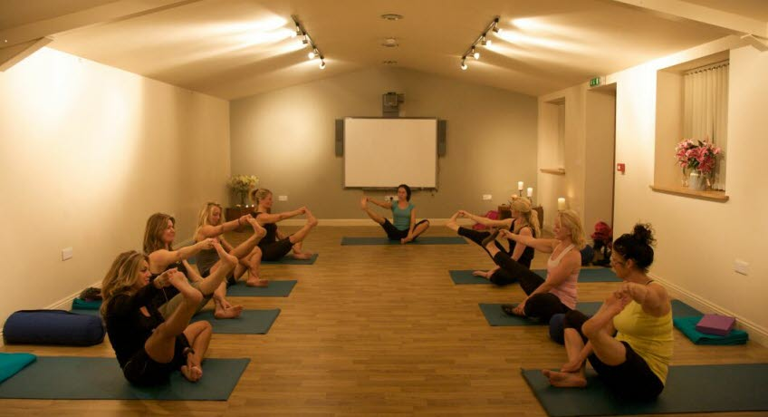 Nettlecombe Farm yoga, Whitwell Isle of Wight