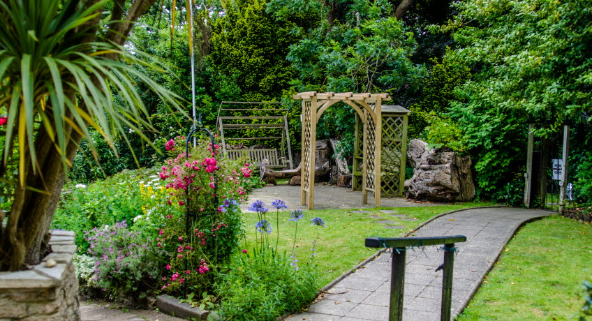 Bedford Lodge garden, Shanklin, Isle of Wight