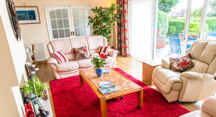 Claddagh B&B lounge, Bonchurch, Isle of Wight