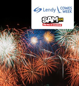 Southampon Fireworks Cruise