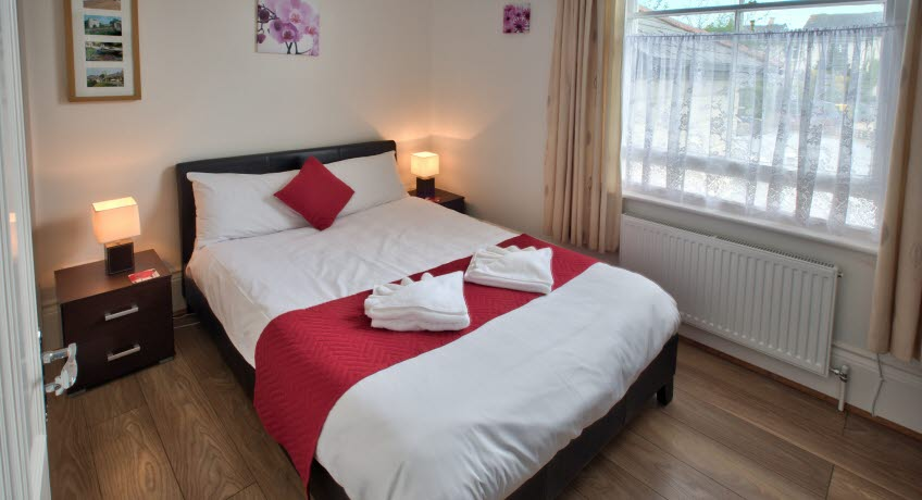 Lyndhurst House double bedroom, Sandown Isle of Wight