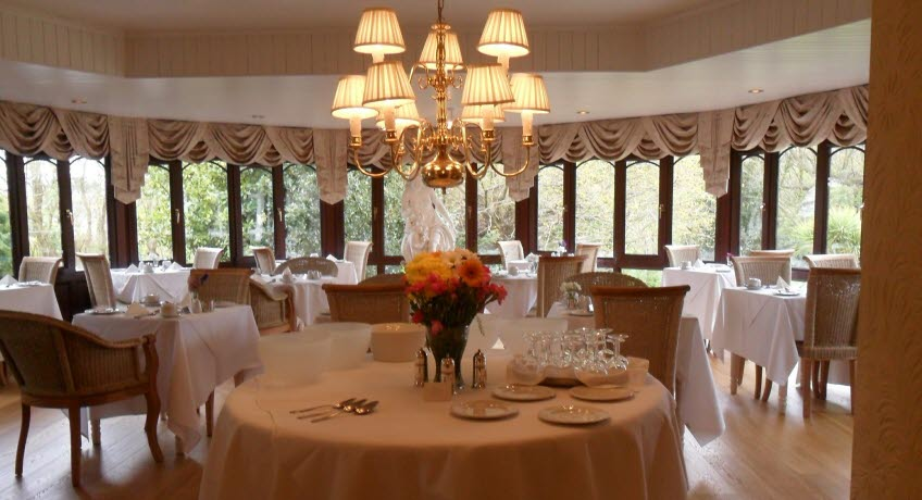 The Fernbank dining room, Shanklin Isle of Wight