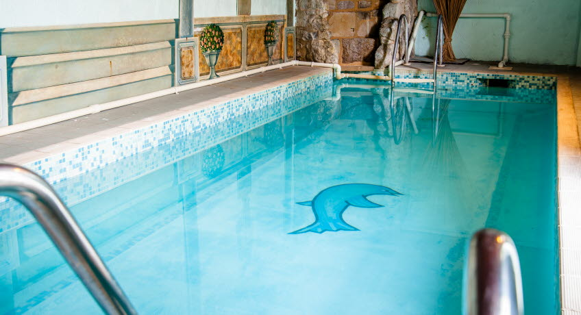 Holliers Hotel swimming pool, Shanklin, Isle of Wight