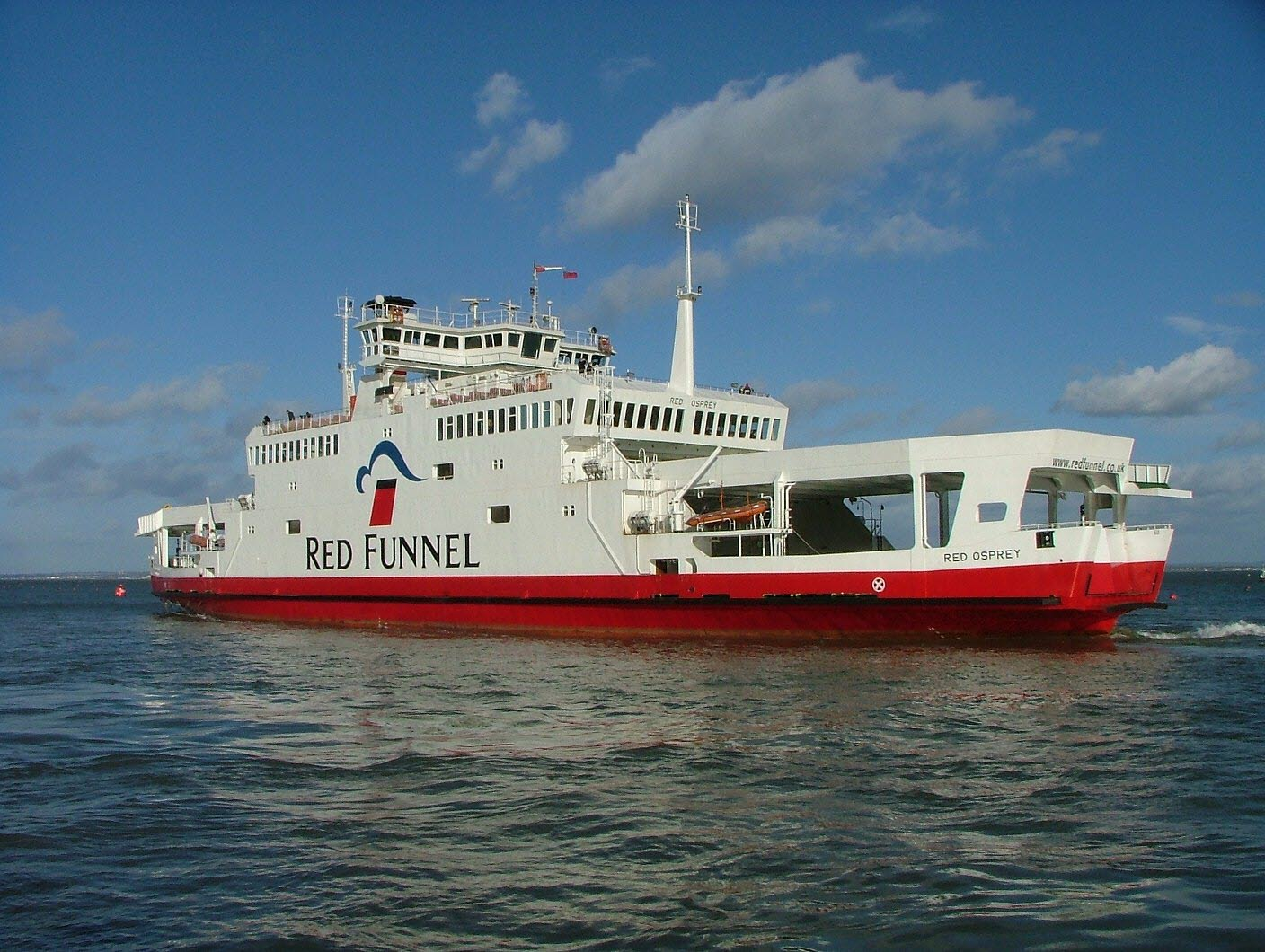 Red Osprey ferry