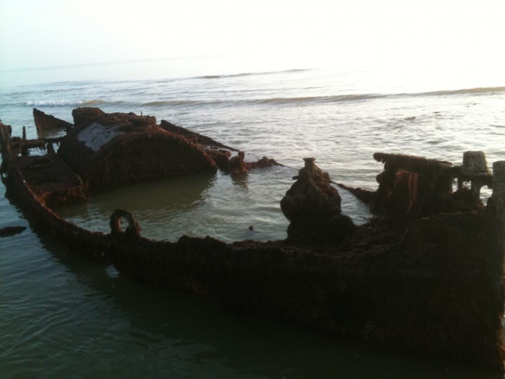 Wreck of SS Carbon