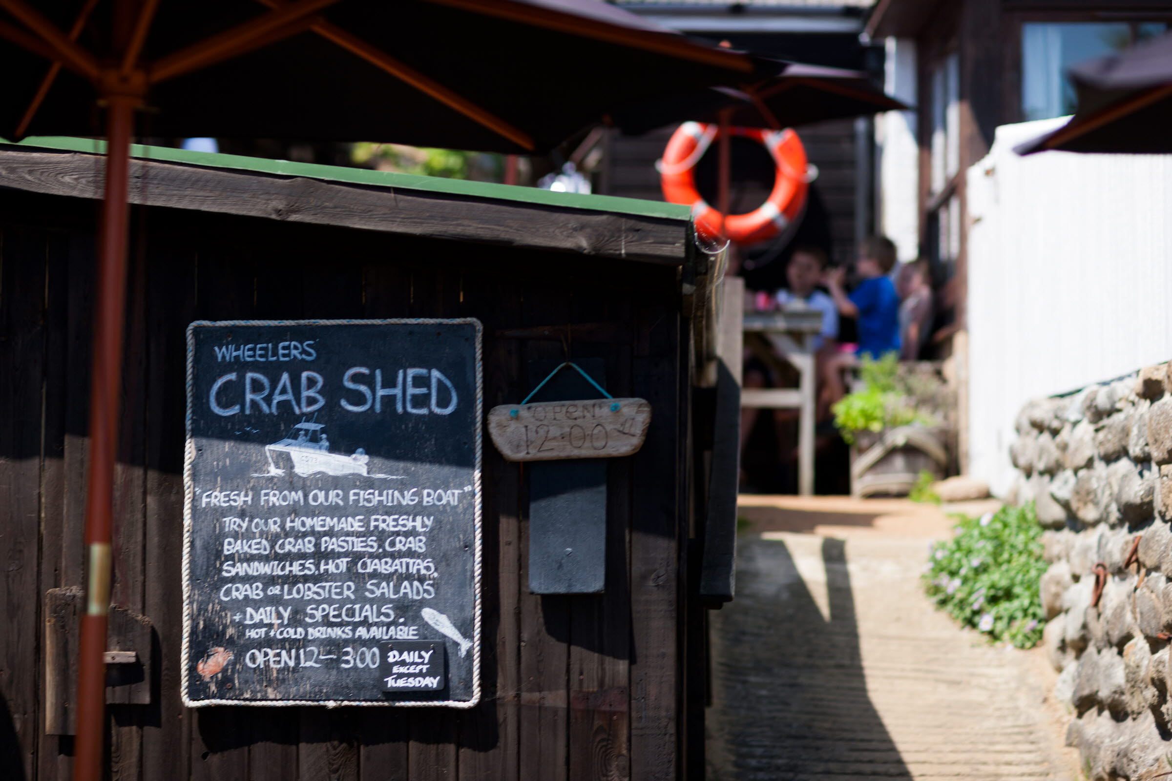 Crab Shed
