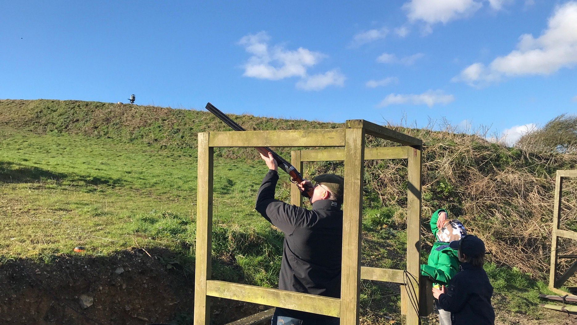 Clay Shooting at Bowcombe View
