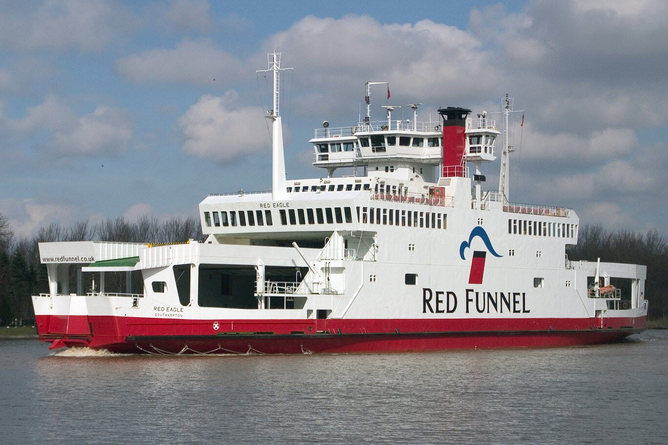 Red Eagle ferry cruise