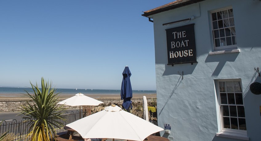 The Boathouse, springfield Lane, Seaview, Isle of Wight, PO34 5AW