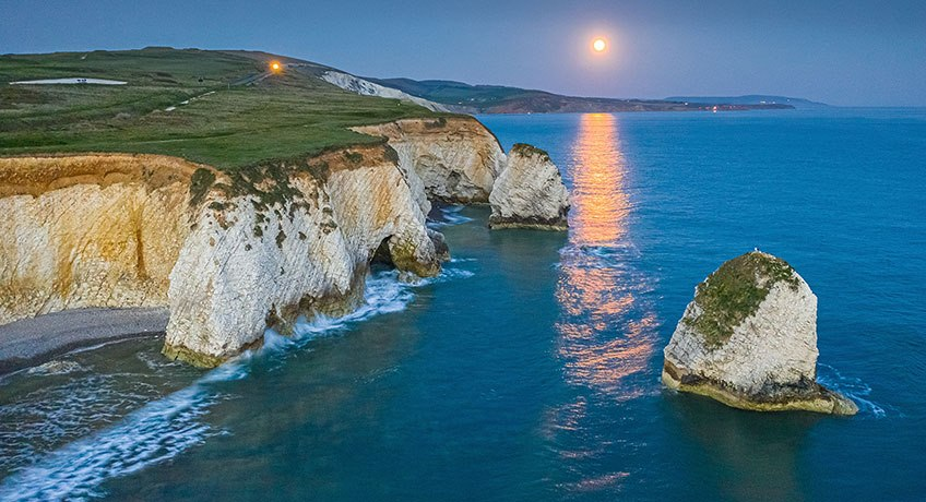 Freshwater Bay Moonrise