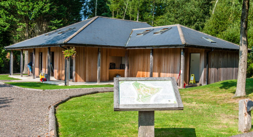Whitefield Forest Touring Park Facilities block, Ryde, Isle of Wight