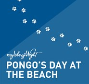 Pongo's day at the beach