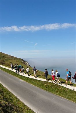 Isle of Wight Walking Festival guided walk