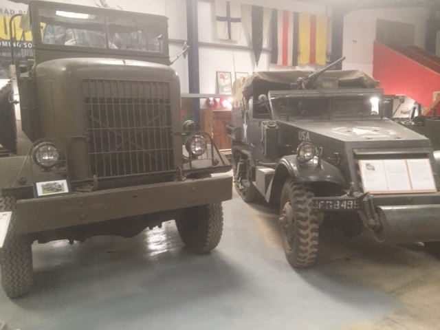 Wight Military Museum trucks