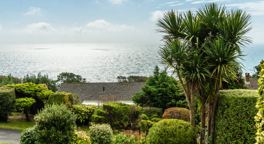 Claddagh B&B view, Bonchurch, Isle of Wight