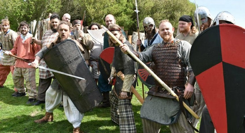 Vikings at Calbourne Water Mill