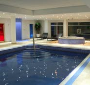 Lakeside Park Hotel indoor pool Wootton Bridge Isle of WIght