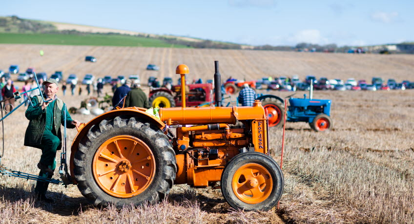 Memorial Ploughing Match Tractor