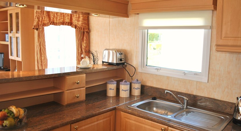 Ventnor Caravan Kitchen