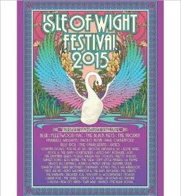 2015 Isle of Wight Festival Poster