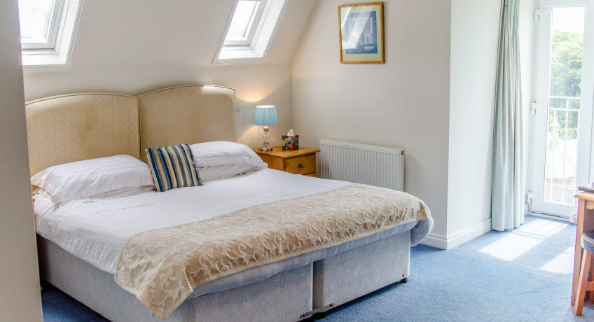 St Maur bedroom, Ventnor, Isle of Wight