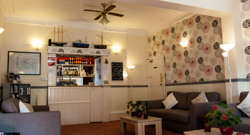 Dorset House bar, Ryde, Isle of Wight