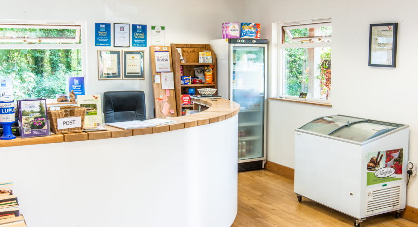Whitefield Forest Touring Park Reception, Ryde, Isle of Wight