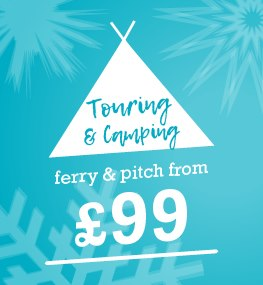Touring and camping from £99