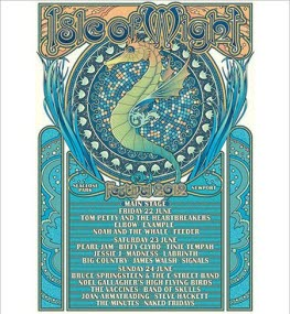2012 Isle of Wight Festival Poster
