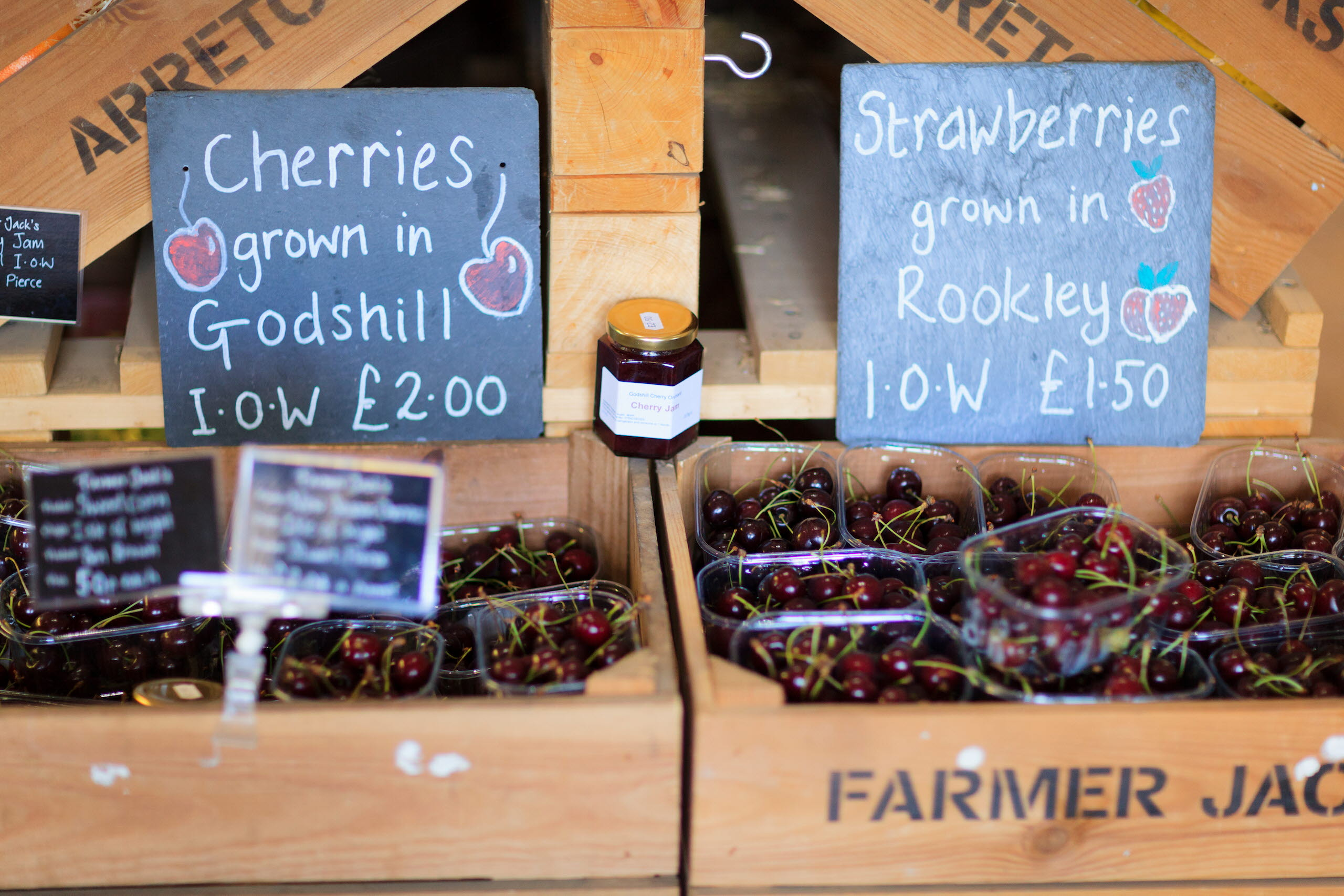 Locally Grown Cherries